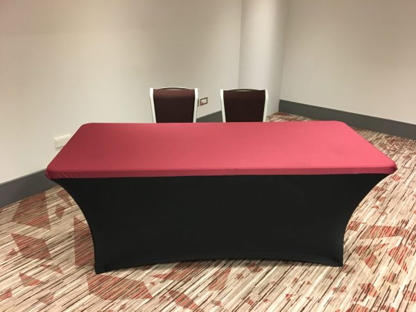 Conference Cut Stretch Cover