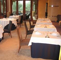 Contemporary Fine Dining Skirting