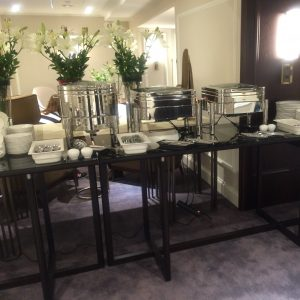 Linen Free Banqueting Tables