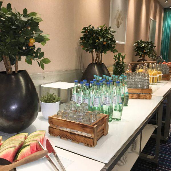 Modular Shelving for Buffet Tables