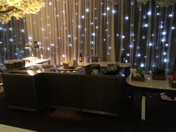 Modular Live Cooking Buffet System
