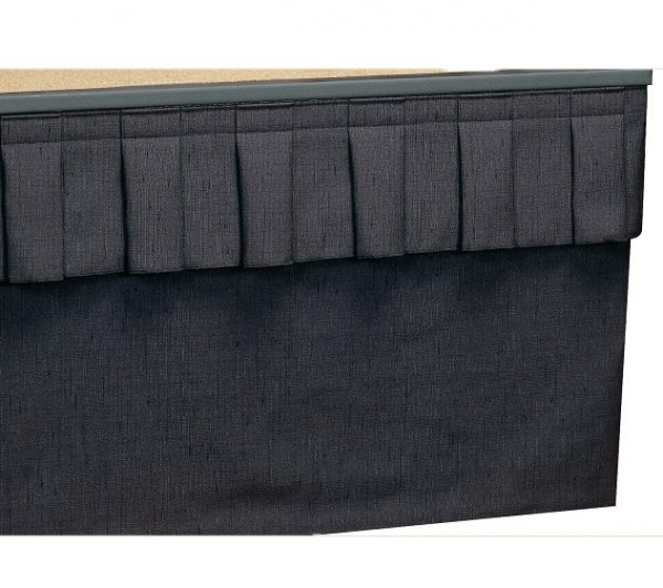 Single Height Stage Skirting