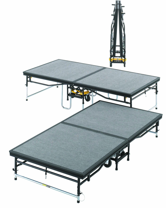 Dual Height Folding Stages