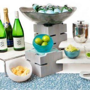 Fusion Buffet System – Grey Wash Teak