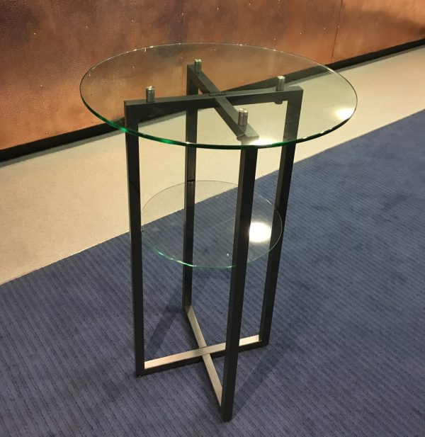 Linen Free Folding Cocktail Table