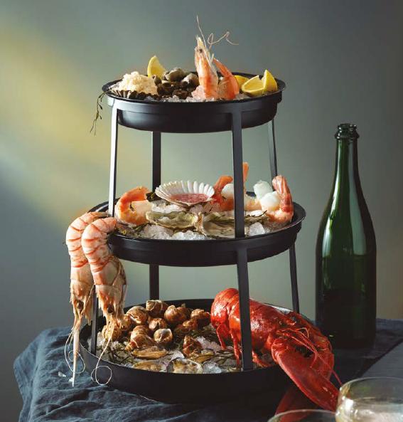 Seafood Display Stand