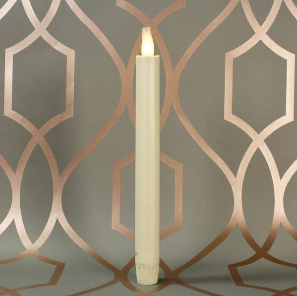 LED Candles with Moving Flame