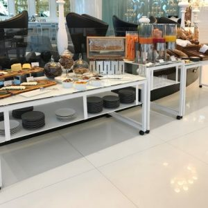 Buffet Tables & Glass Banqueting Table Solutions