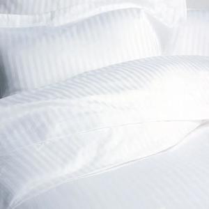 1cm Satin Stripe 100% Cotton - T300